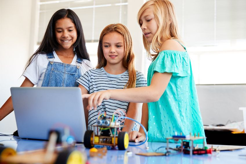 Girls Who Code: Going Where the Girls Aren't (But Should Be)